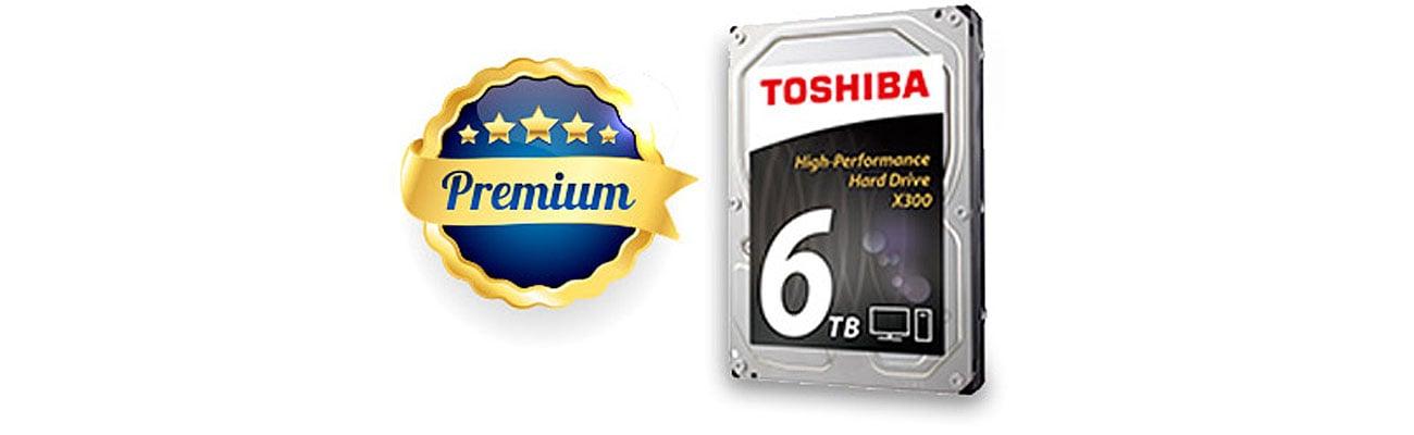 Dysk twardy HDD Toshiba X300 zastosowania