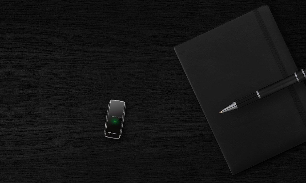 Karta sieciowa TP-Link Archer T2U (433Mb/s a/b/g/n/ac) DualBand Elegancki i stylowy