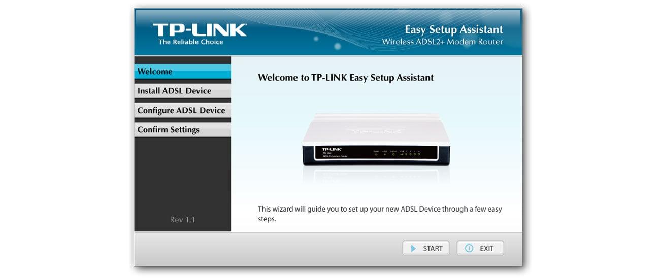 TP-Link TD-8840T łatwa instalacja