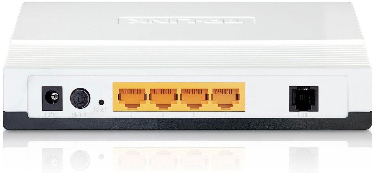 TP-Link TD-8840T modem ADSL/router NAT