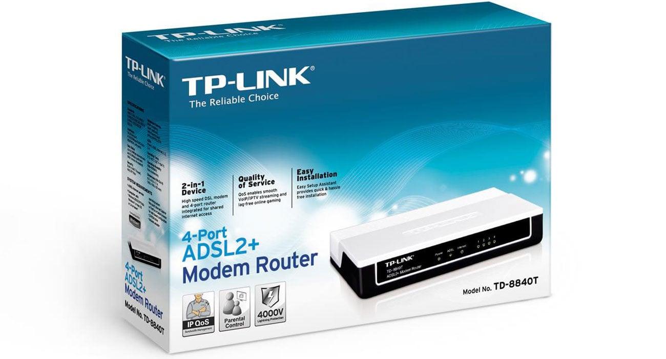 TP-Link TD-8840T Funkcja IP QoS