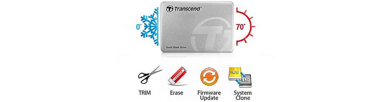 Dysk SSD Transcend 370 niezawodność