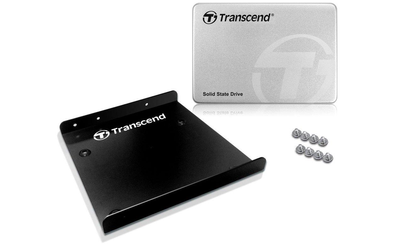 Dysk SSD Transcend 370 Uchwyt montażowy
