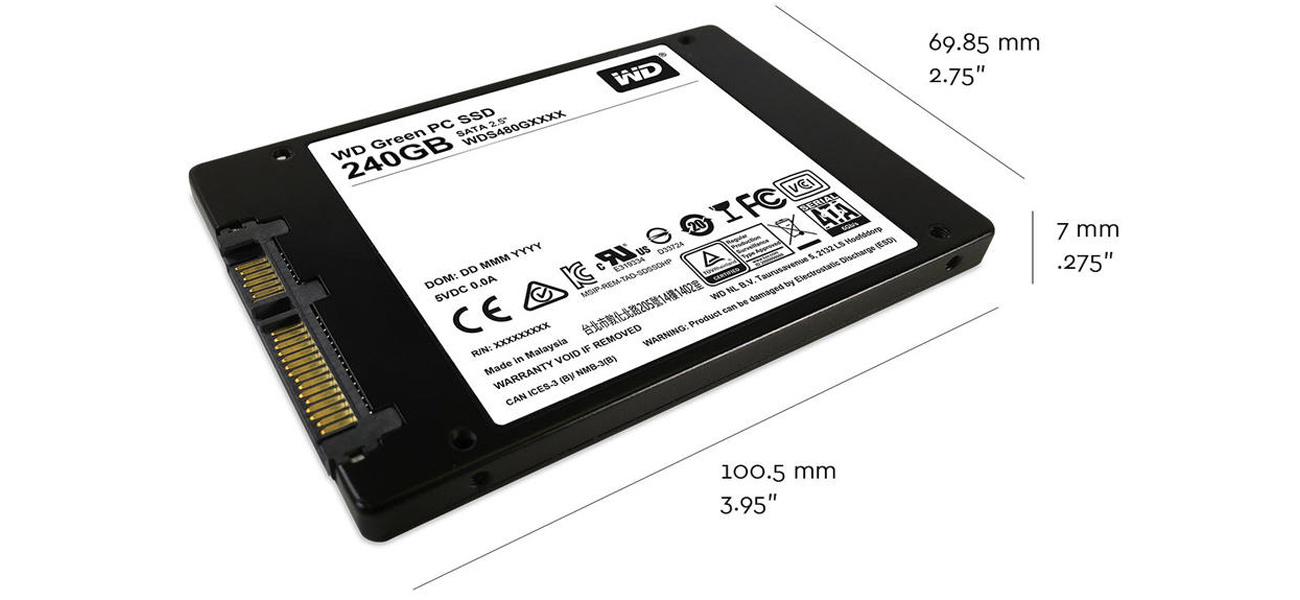 240GB WD Green SSD