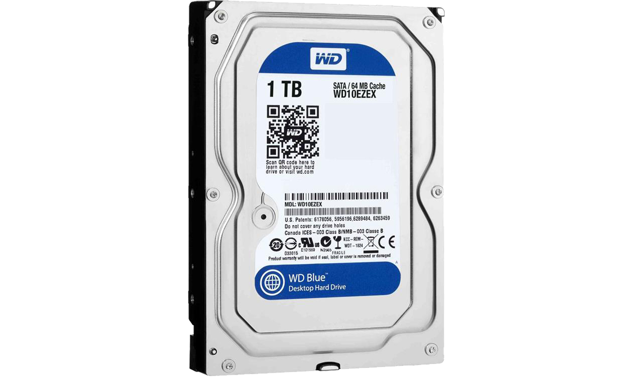 WD 1TB 7200obr. 64MB BLUE Acronis