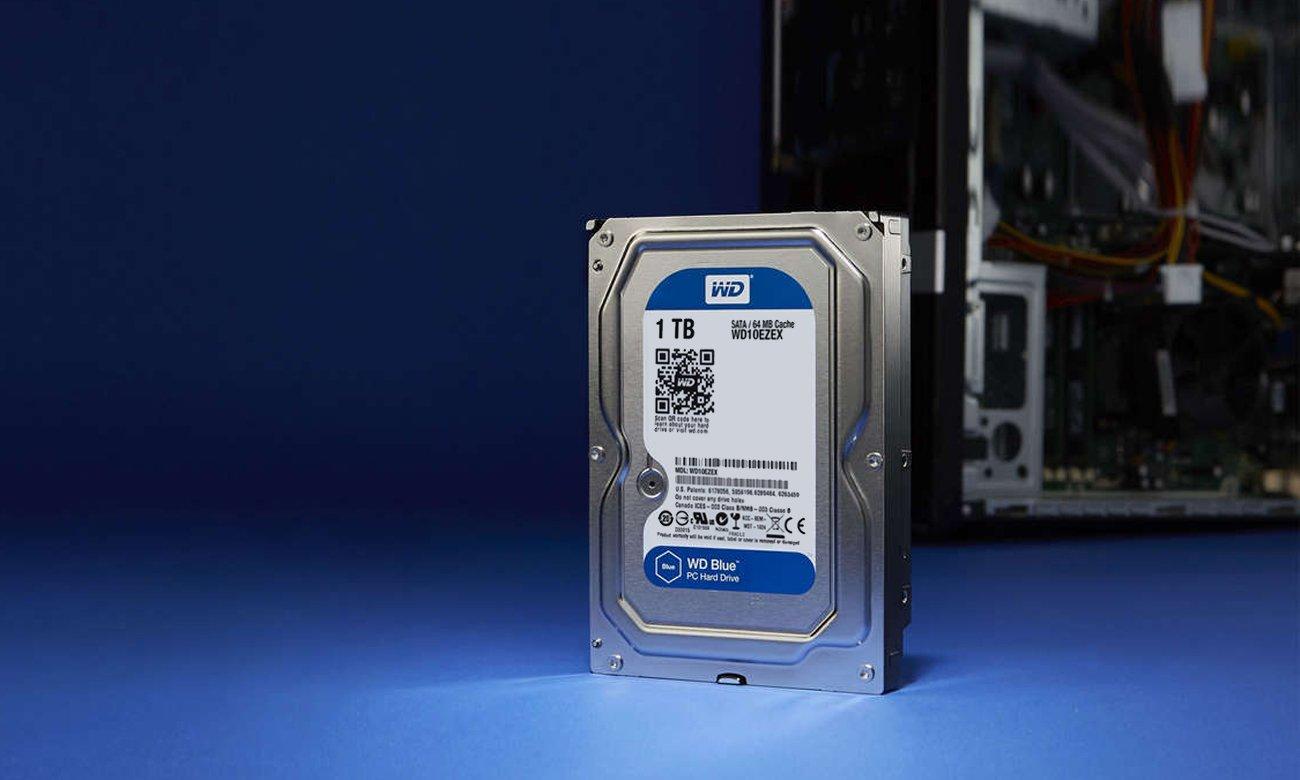 WD 1TB 7200obr. 64MB BLUE wiele zastosowań