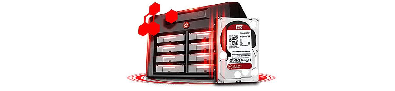 Dysk HDD WD RED PRO optymalna wydajność