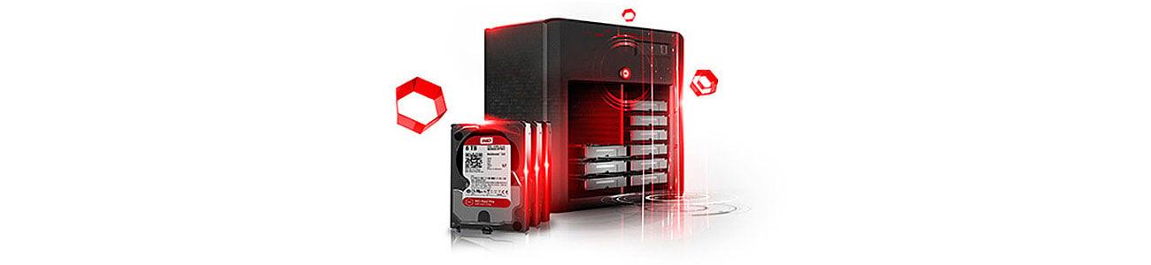 Dysk HDD WD RED PRO ochrona,bezpieczeństwo