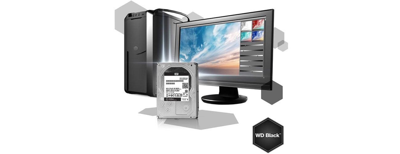Dysk HDD WD 6TB 7200obr. 256MB BLACK WD4005FZBX Szybkość