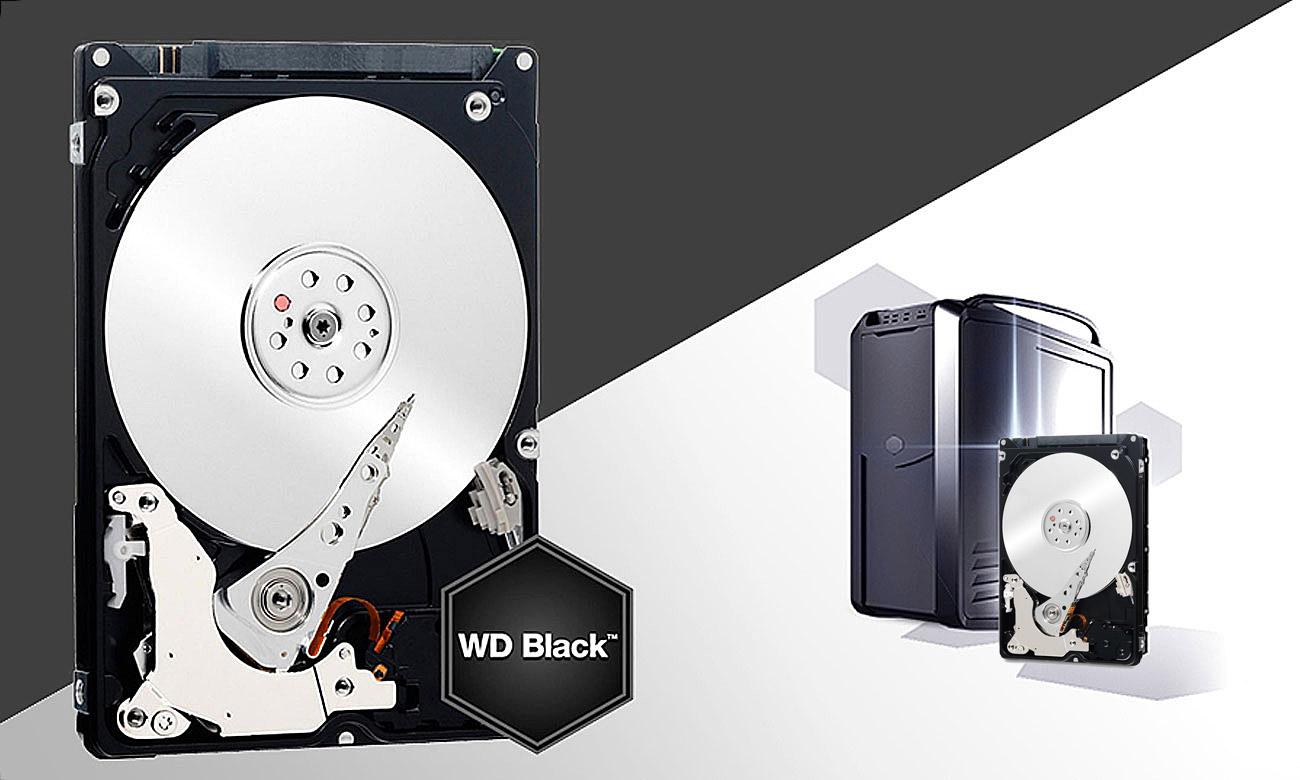 Dysk HDD WD BLACK wydajność
