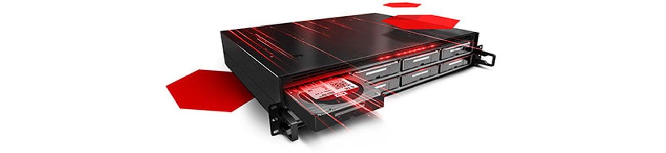 Dysk HDD WD Red Pro NAS dla dużych przedsiębiorstw