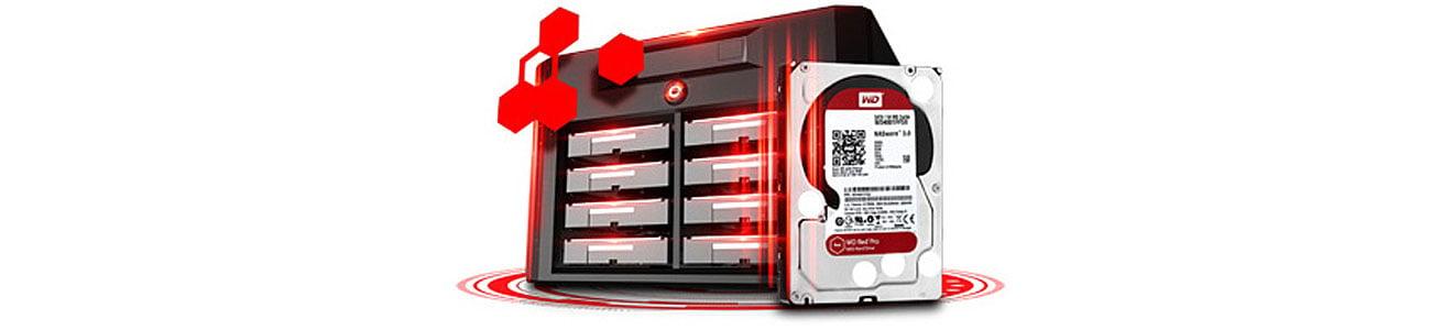 Dysk HDD WD Red Pro NAS optymalna wydajność w środowiskach NAS