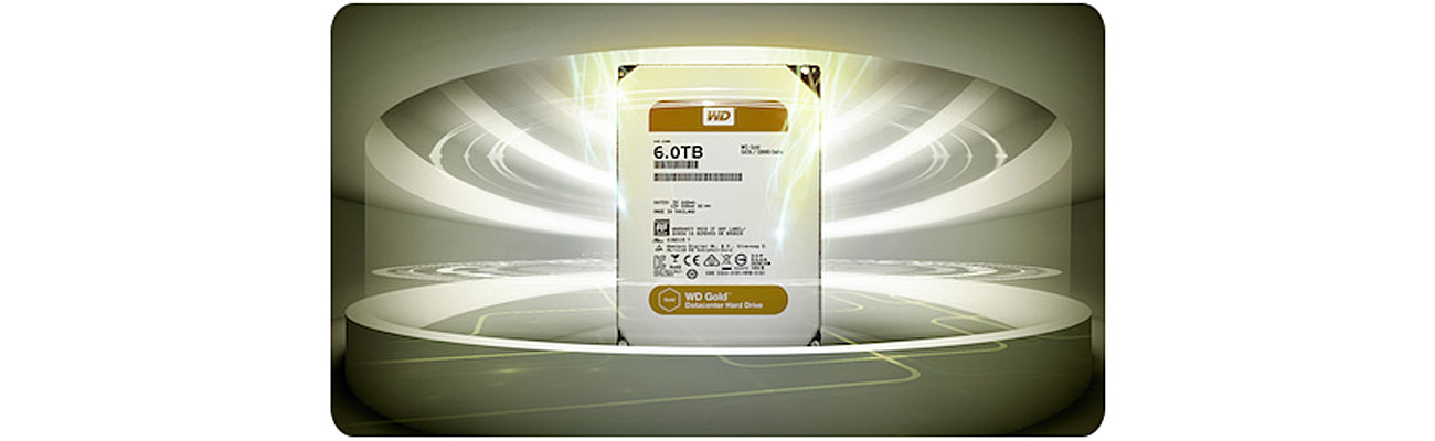 Dysk HDD WD GOLD Obsługa dużych obciążeń