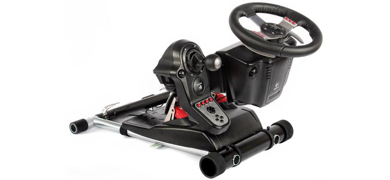 Stojak do kierownicy Wheel Stand Pro G7 DELUXE Kompaktowy i prosty w obsłudze