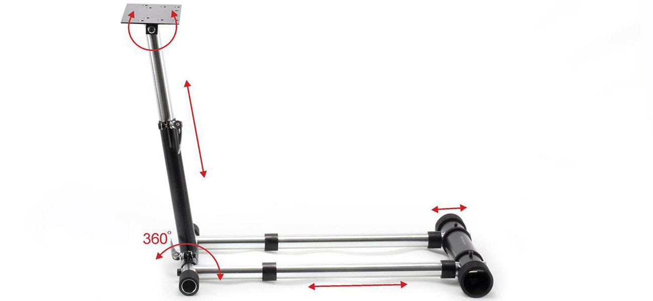 Stojak do kierownicy Wheel Stand Pro G7 DELUXE solidność, precyzja, kompaktowy rozmiar