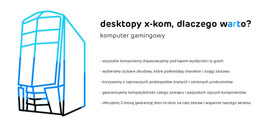 Dlaczego warto wybrać komputery X-KOM - Gaming
