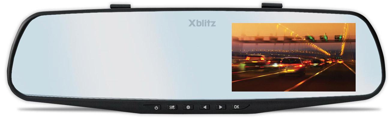 Wideorejestrator Xblitz Mirror 2016 Automatyczny start nagrywania