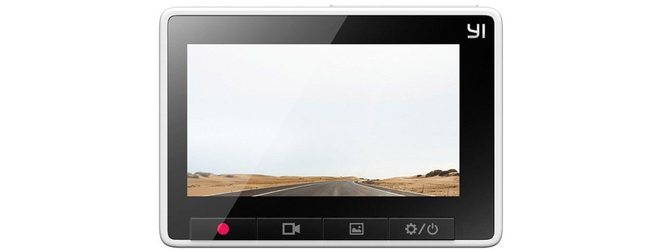 Wideorejestrator Xiaomi Yi Dash Camera Panoramiczny ekran LCD