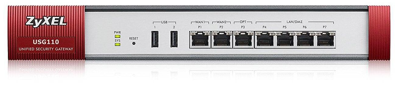 Firewall Zyxel USG110 System antywirusowy Kaspersky SafeStream II