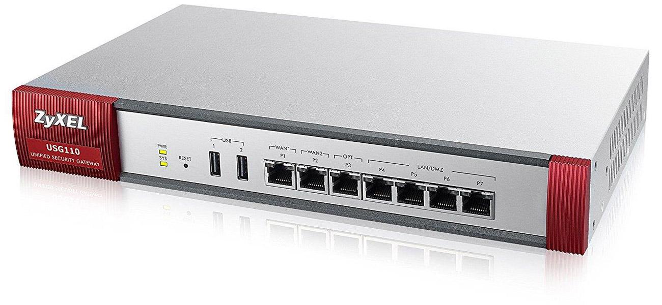 Firewall Zyxel USG110 Wysoka przepustowość połączeń VP