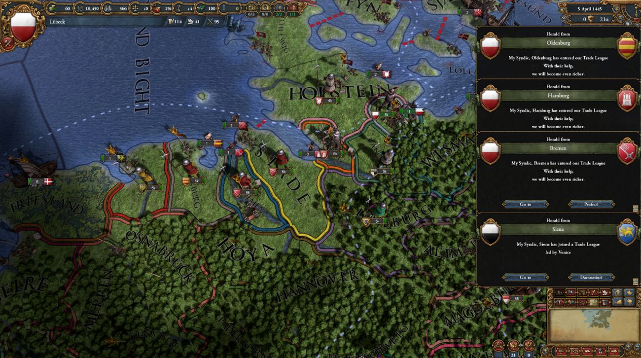 Gra PC Europa Universalis IV: Mare Nostrum