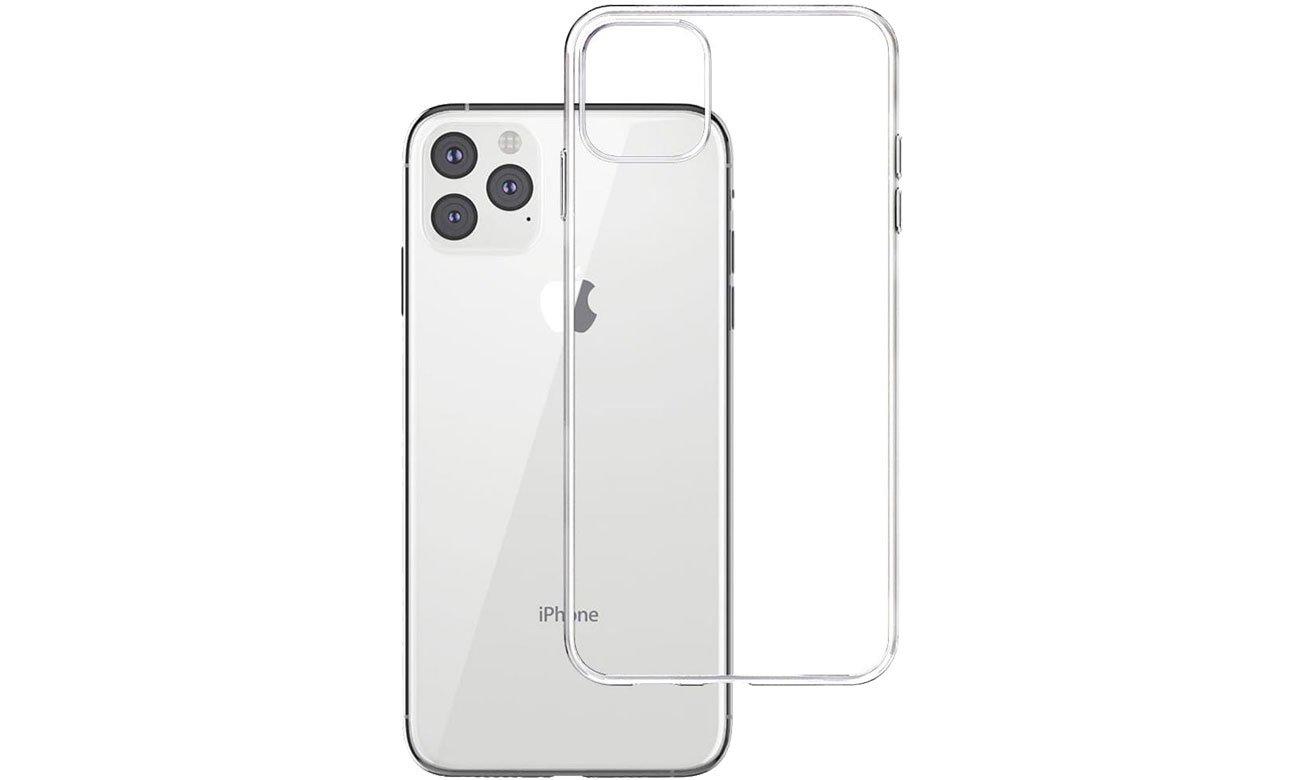 Etui 3mk Clear Case do iPhone 11 Pro Max 5903108142595