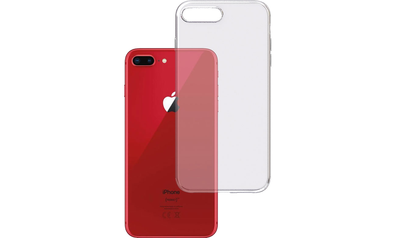 Etui 3mk Clear Case do iPhone 7/8 Plus 5903108043847
