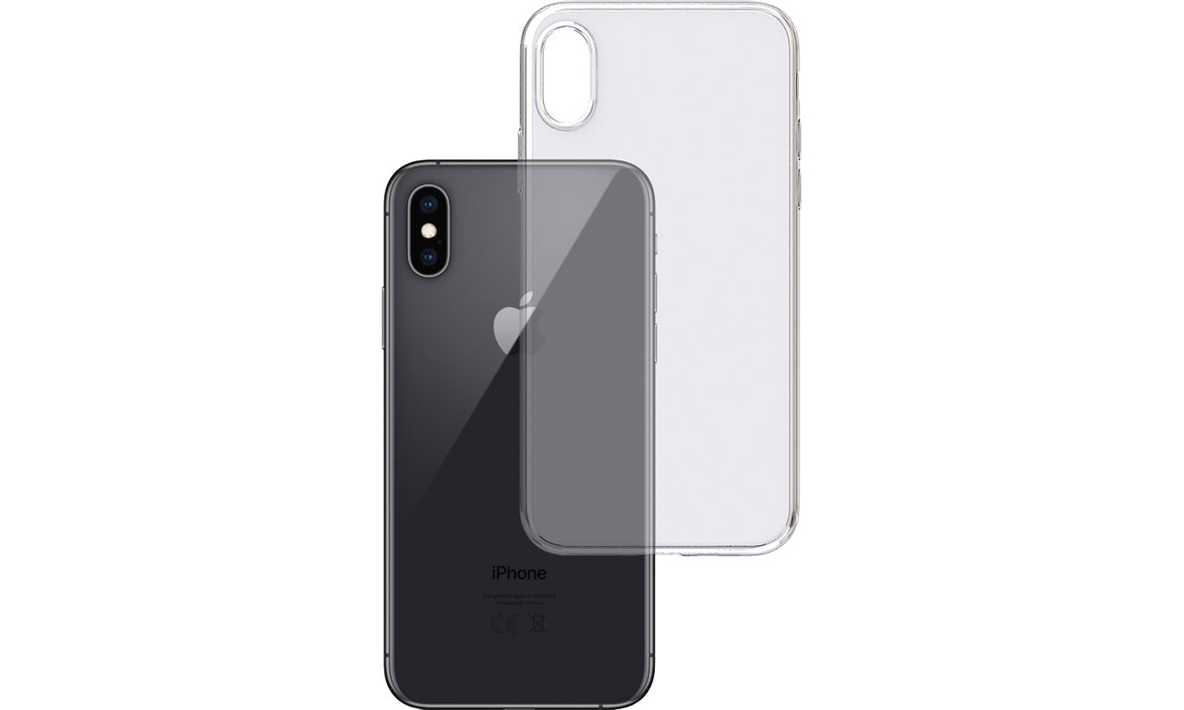 Etui 3mk Clear Case do iPhone X/Xs 5903108047524