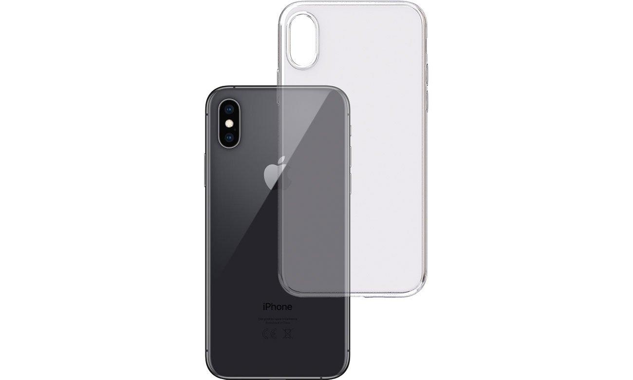 Etui 3mk Clear Case do iPhone Xs MAX 5903108047531