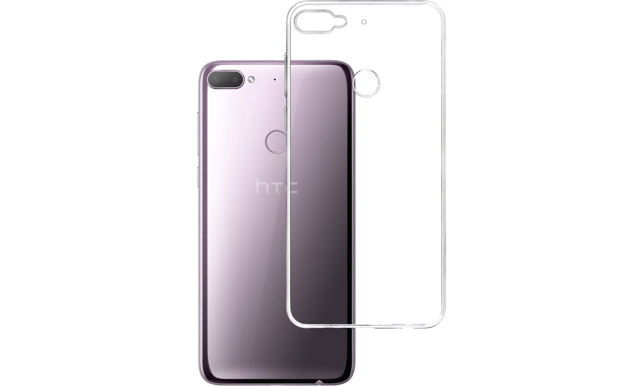 Etui 3mk Clear Case do HTC Desire 12 Plus 5903108073097
