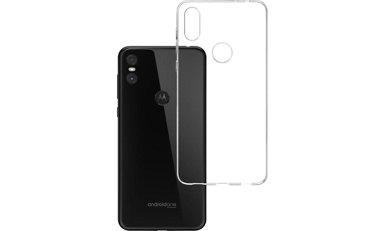 Etui 3mk Clear Case do Motorola Moto One 5903108059770