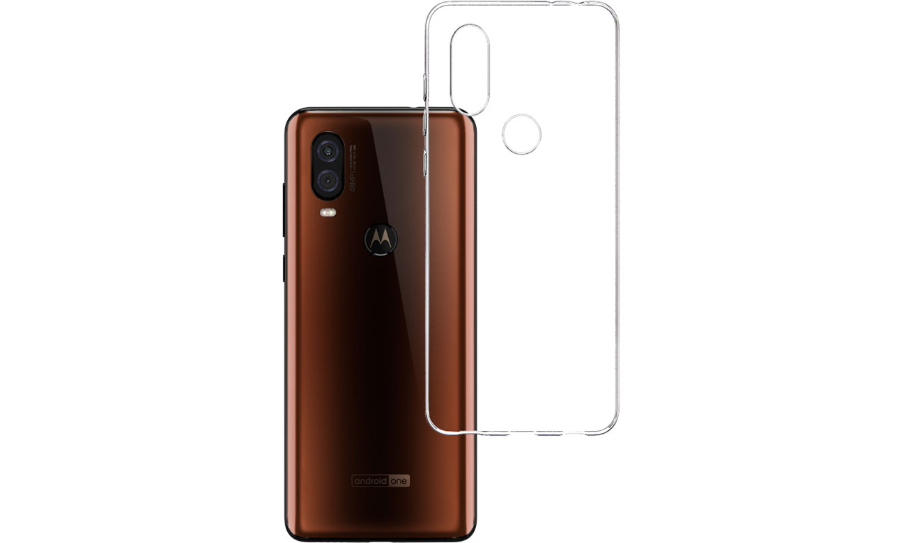 Etui 3mk Clear Case do Motorola One Vision