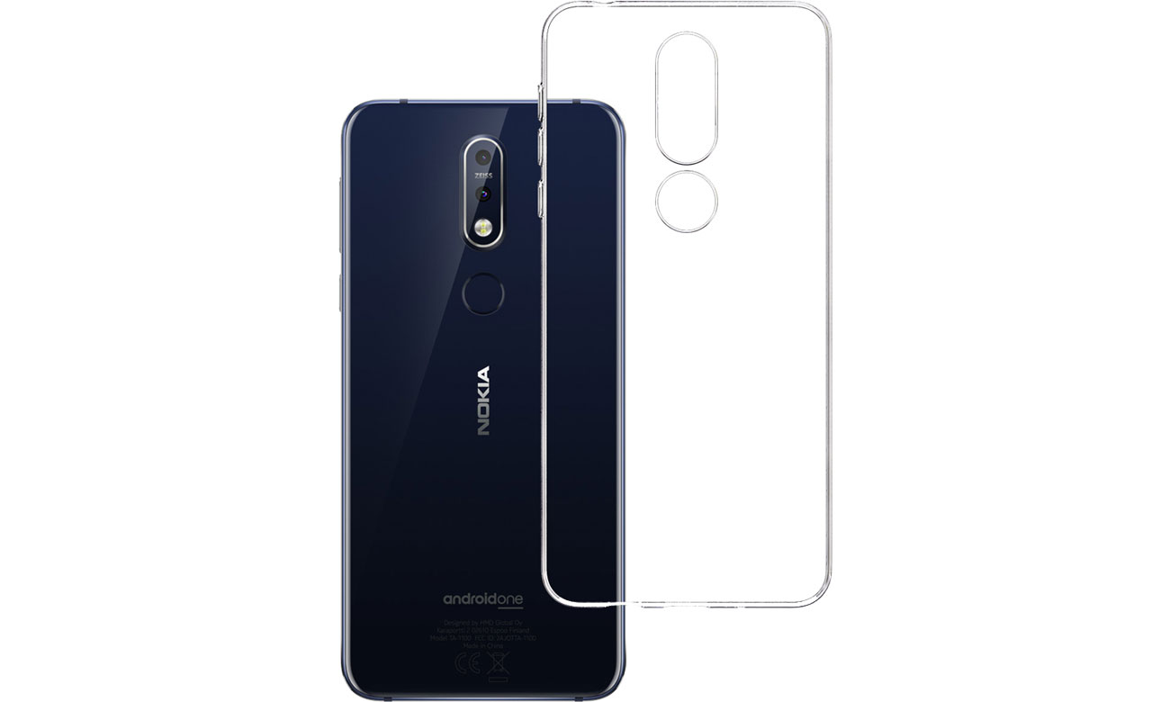 Etui 3mk Clear Case do Nokia 7.1 5903108059794