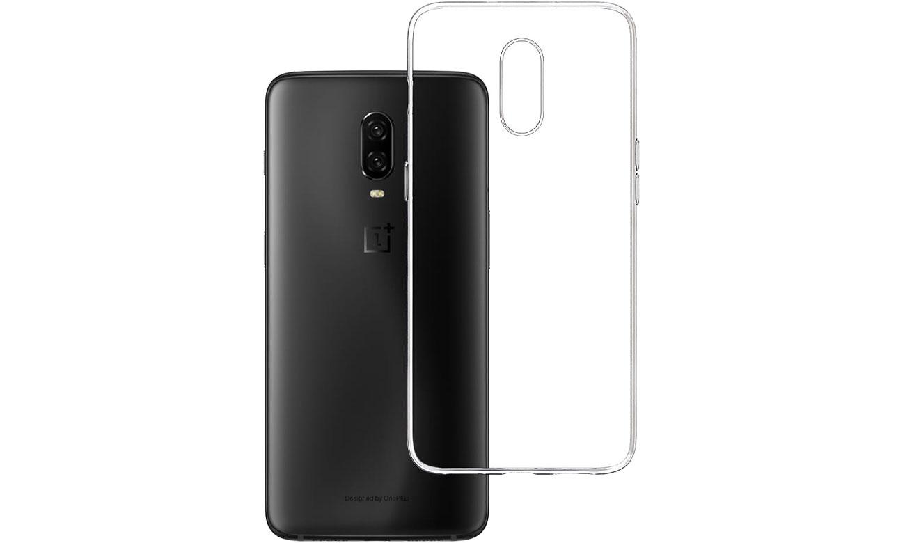 Etui 3mk Clear Case do OnePlus 6T 5903108080934