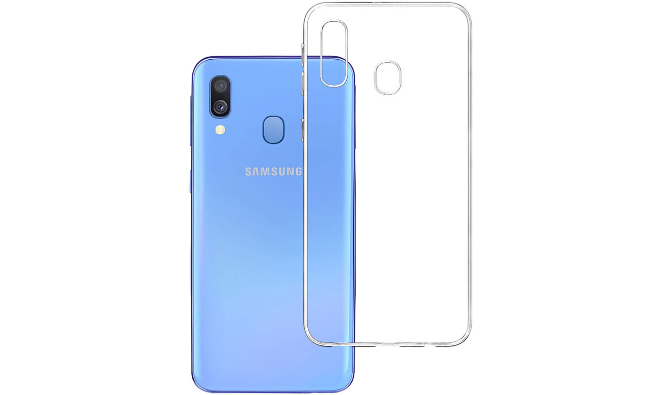 Etui 3mk Clear Case do Samsung Galaxy A40 5903108083706