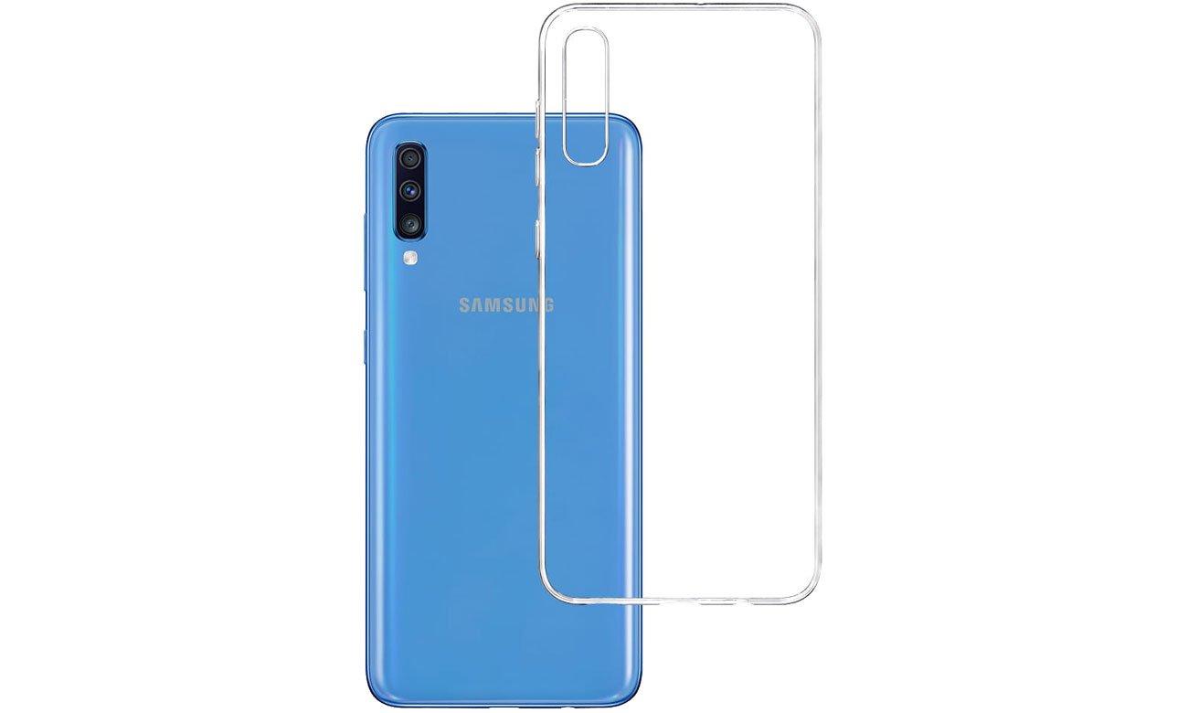 Etui 3mk Clear Case do Samsung Galaxy A70 5903108084543