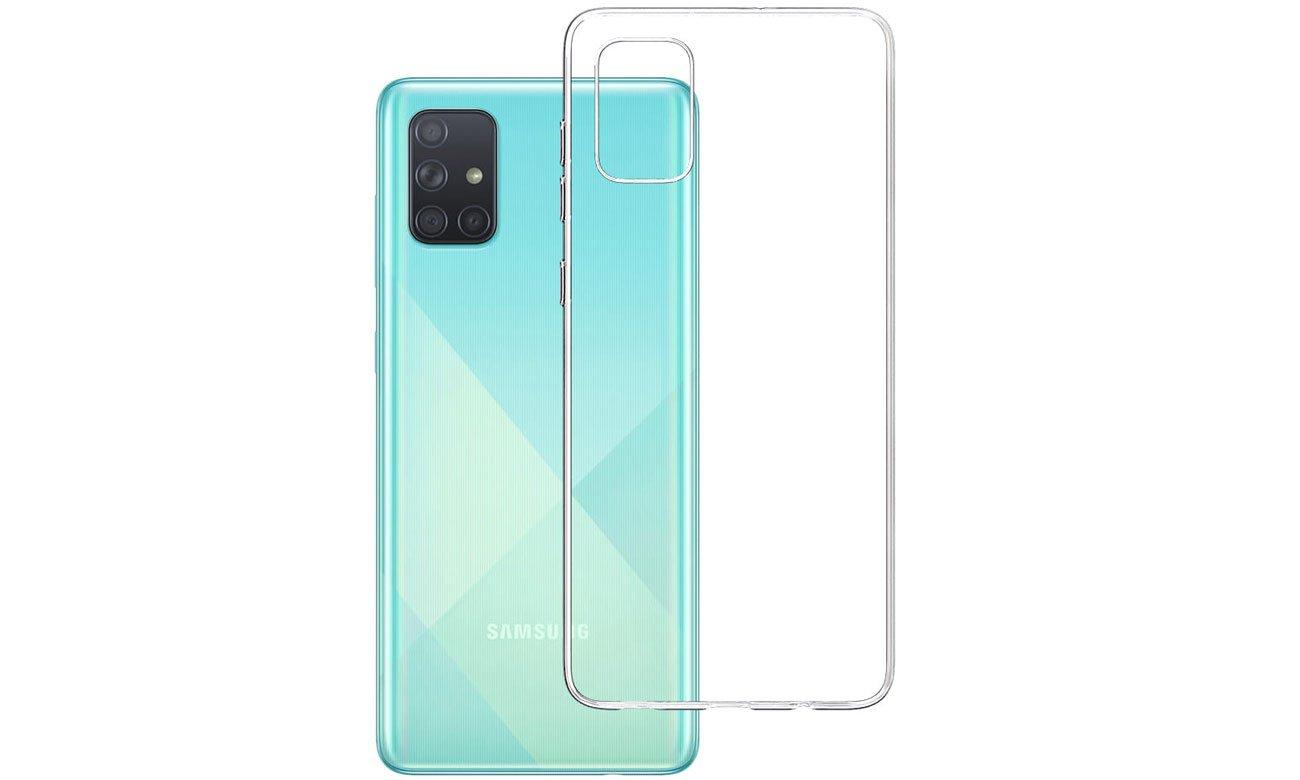 Etui 3mk Clear Case do Samsung Galaxy A71