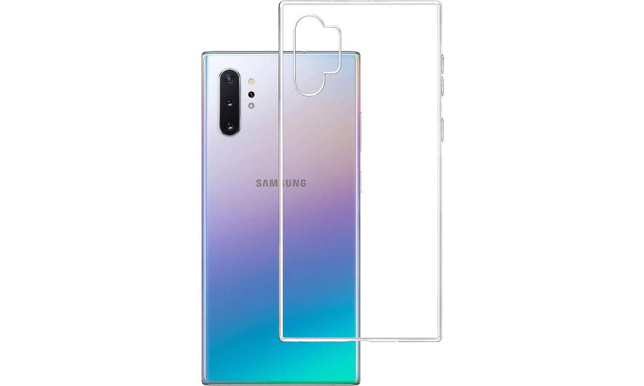 Etui 3mk Clear Case do Samsung Galaxy Note 10+ 5903108162074