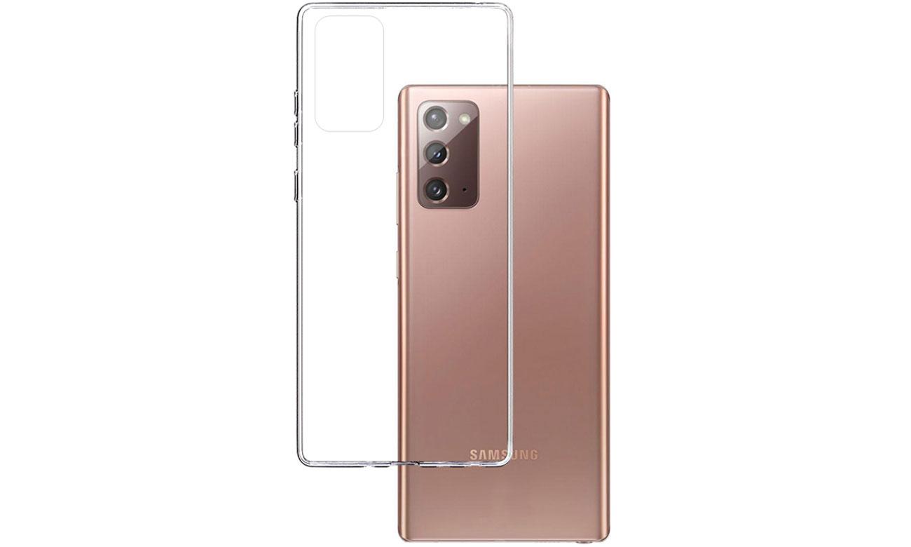 Etui 3mk Clear Case do Samsung Galaxy Note 20