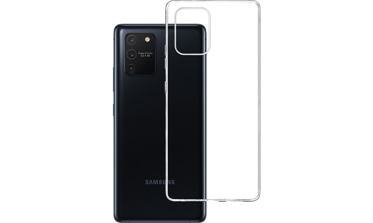 Etui 3mk Clear Case do Samsung Galaxy S10 Lite 5903108228367