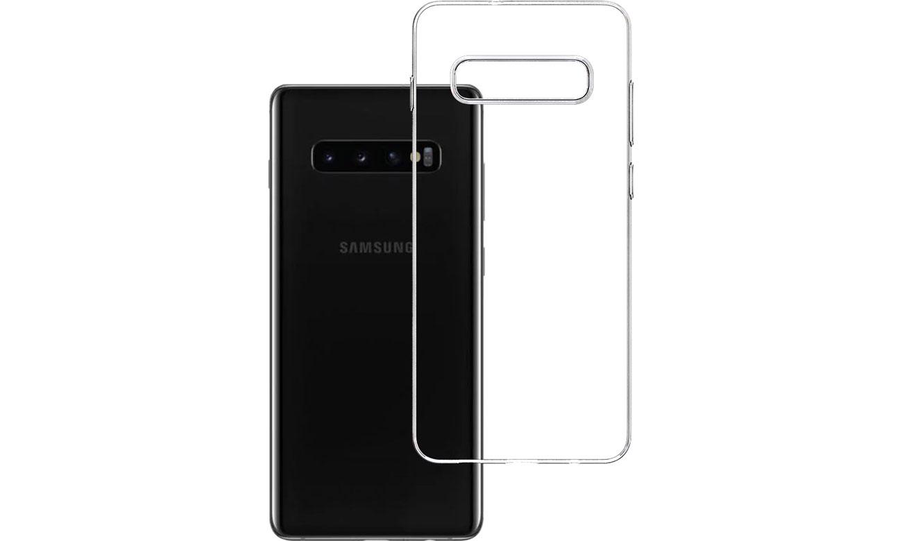 Etui 3mk Clear Case do Samsung Galaxy S10+ 5903108059848