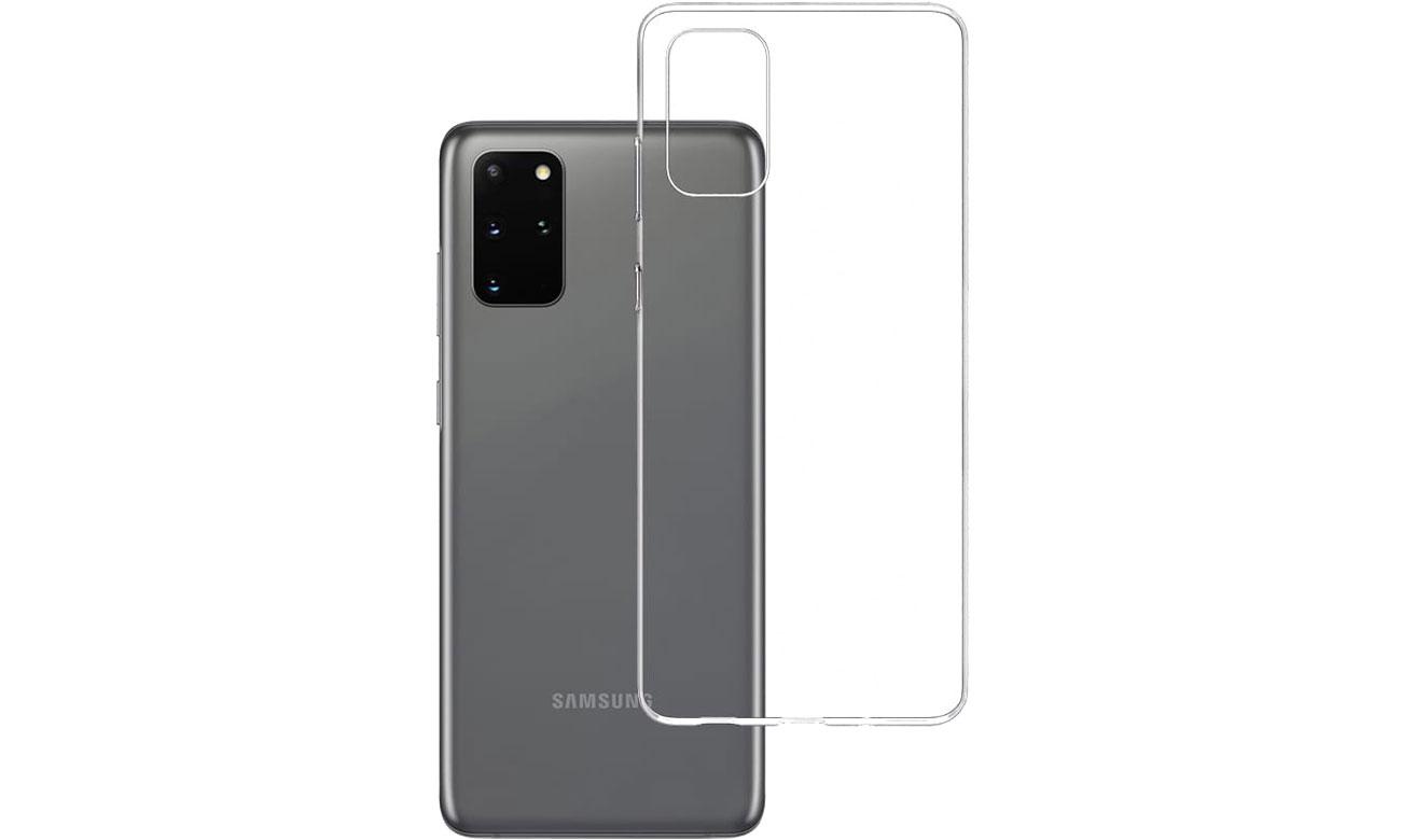 Etui 3mk Clear Case do Samsung Galaxy S20+ 5903108222747
