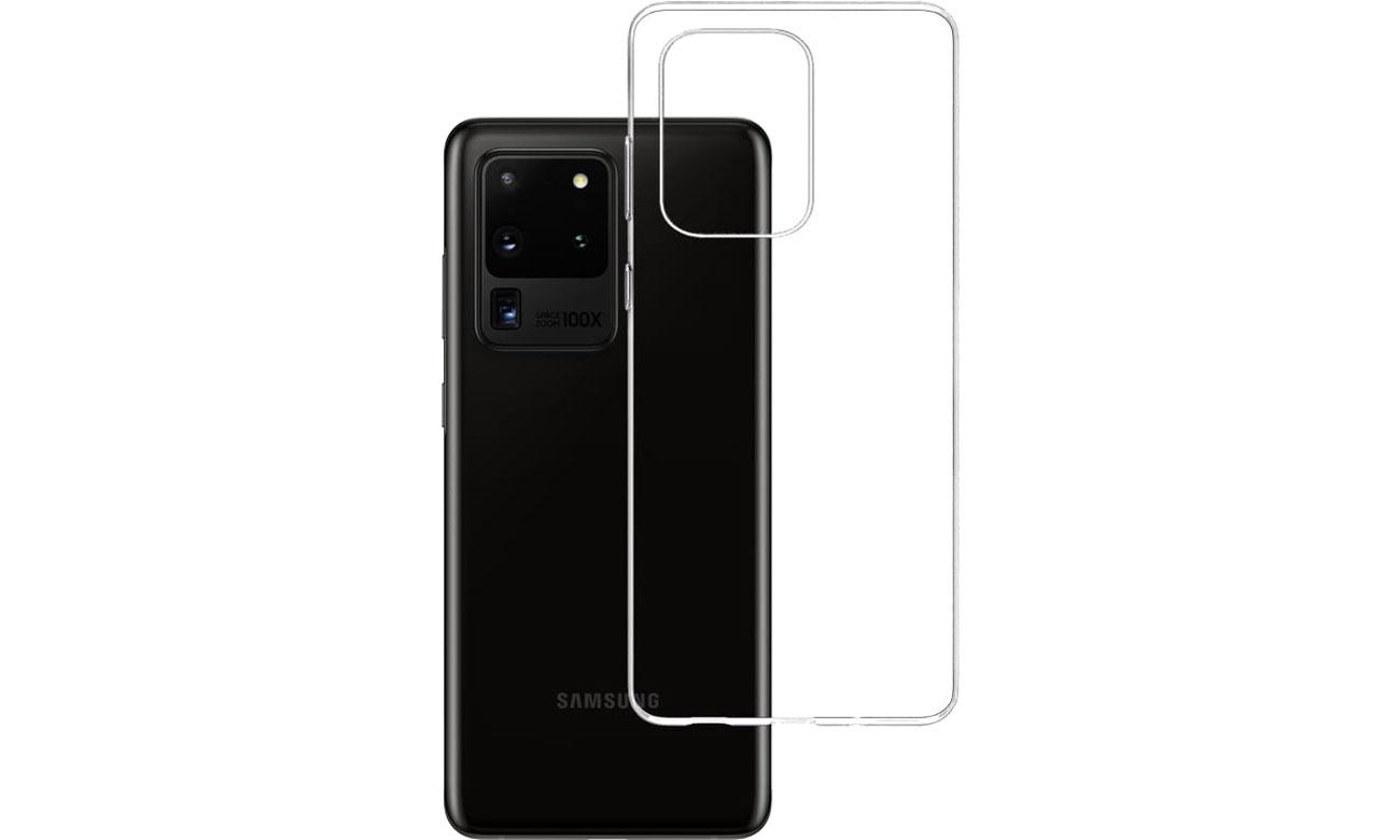 Etui 3mk Clear Case do Samsung Galaxy S20 Ultra 5903108223294