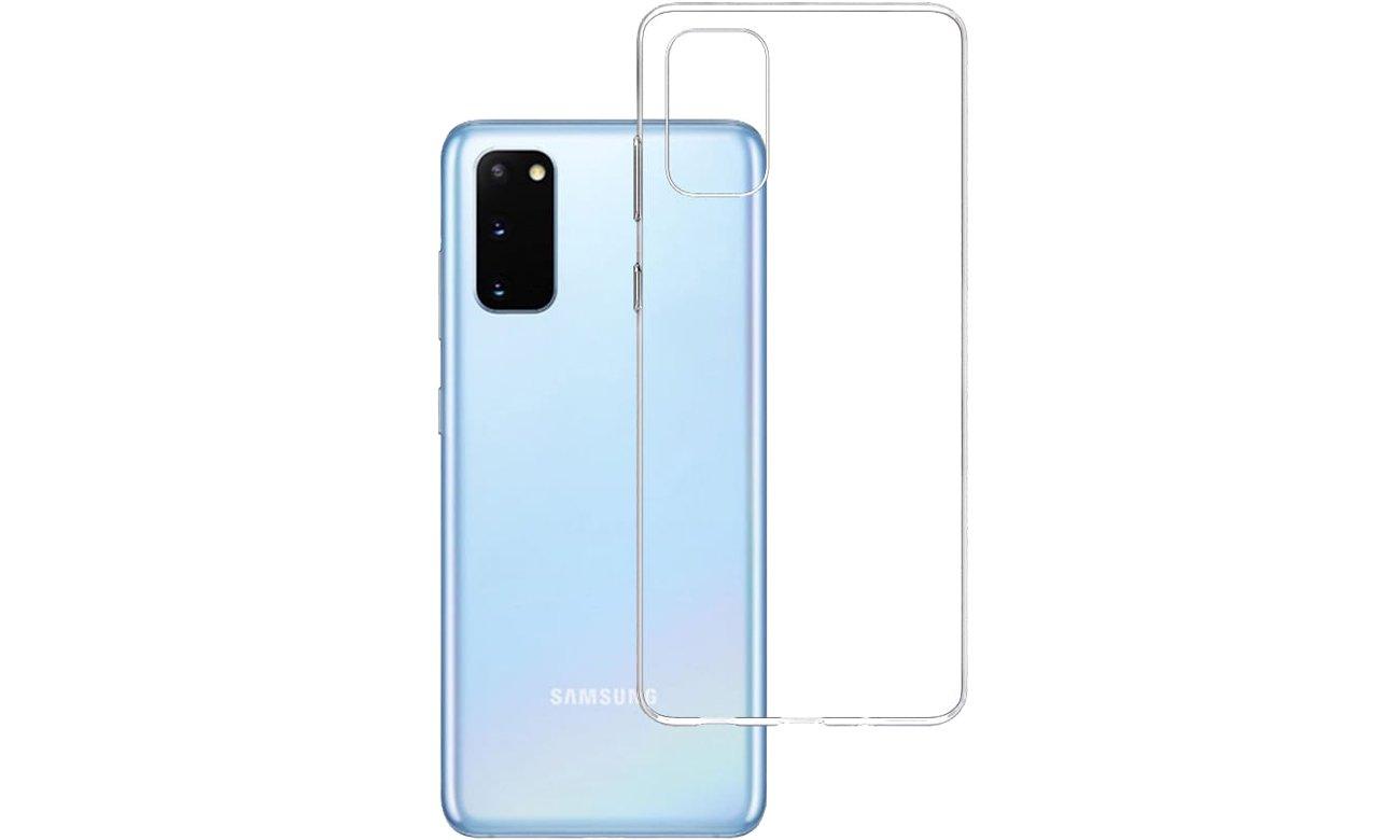 Etui 3mk Clear Case do Samsung Galaxy S20 5903108223843