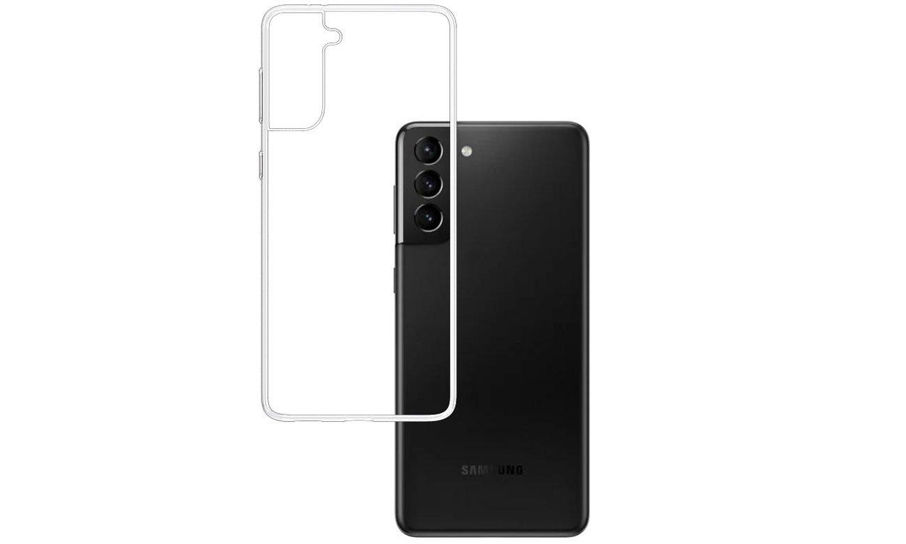 Etui 3mk Clear Case do Samsung Galaxy S21+