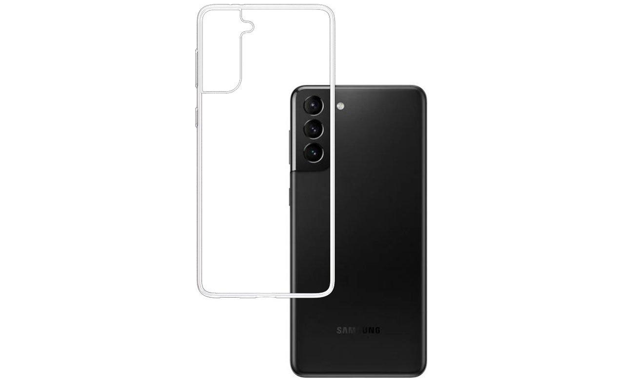 Etui 3mk Clear Case do Samsung Galaxy S21