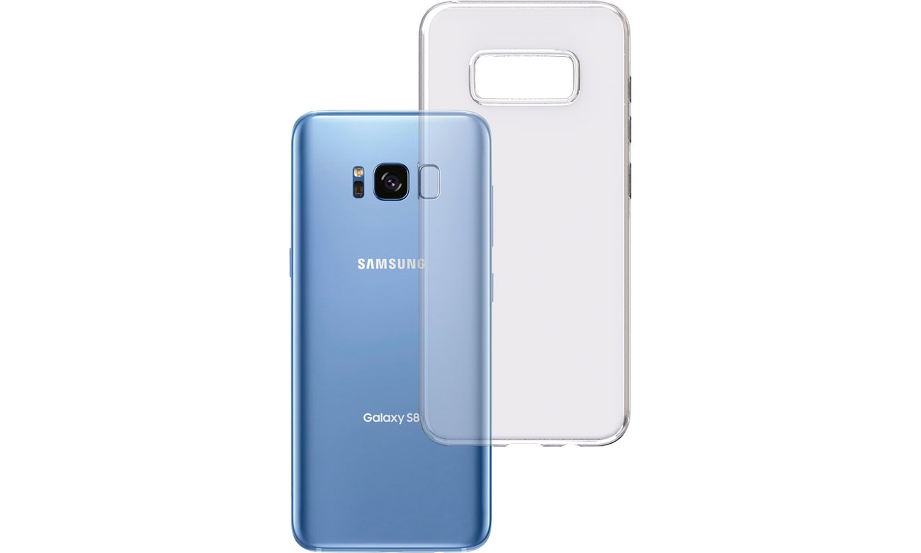 Etui 3mk Clear Case do Samsung Galaxy S8 5903108044370