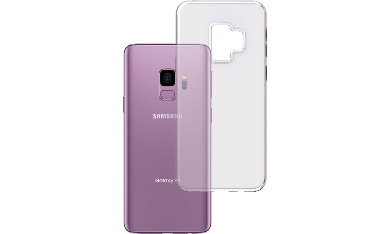 Etui 3mk Clear Case do Samsung Galaxy S9 5903108044394