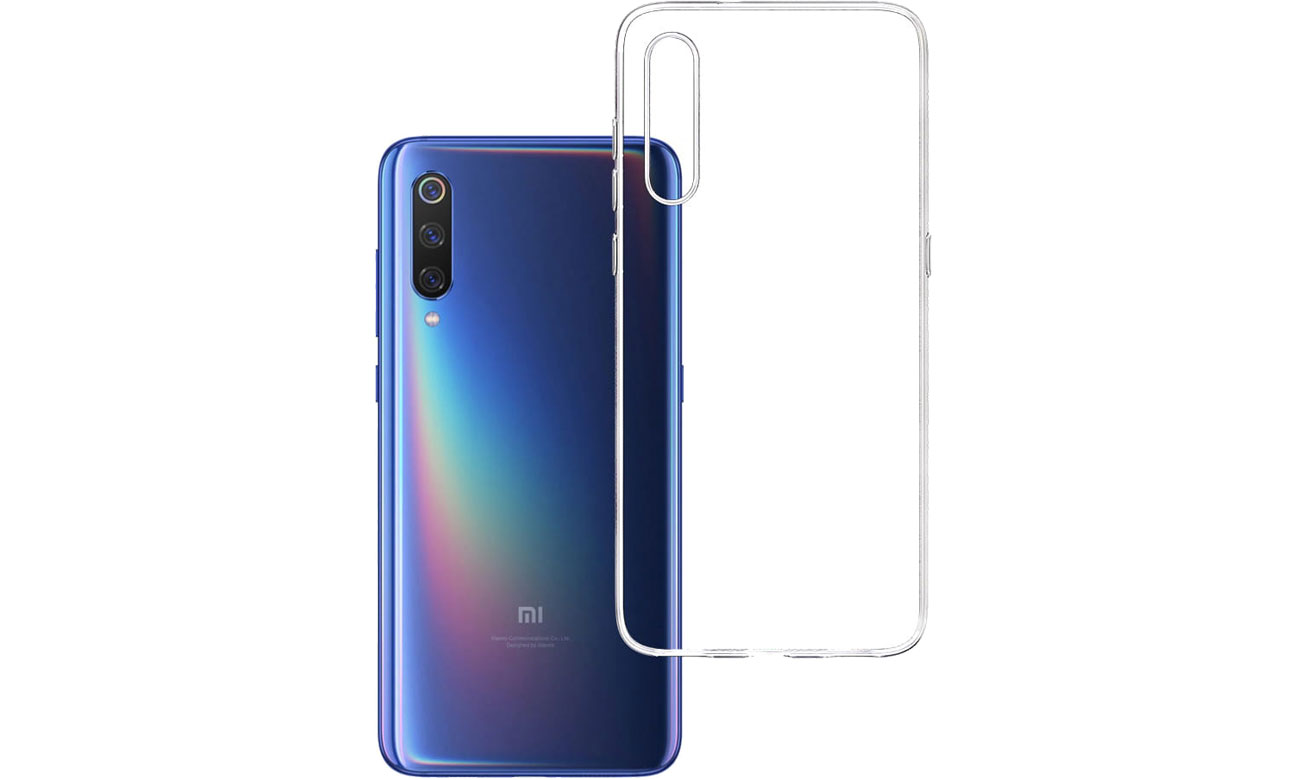 Etui 3mk Clear Case do Xiaomi Mi 9 5903108084635