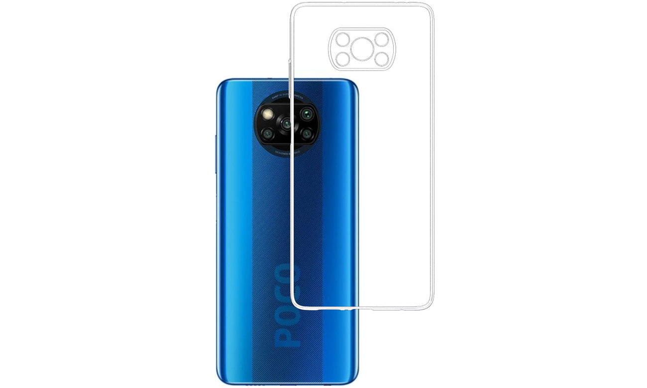 Etui 3mk Clear Case do Xiaomi POCO X3 5903108336079